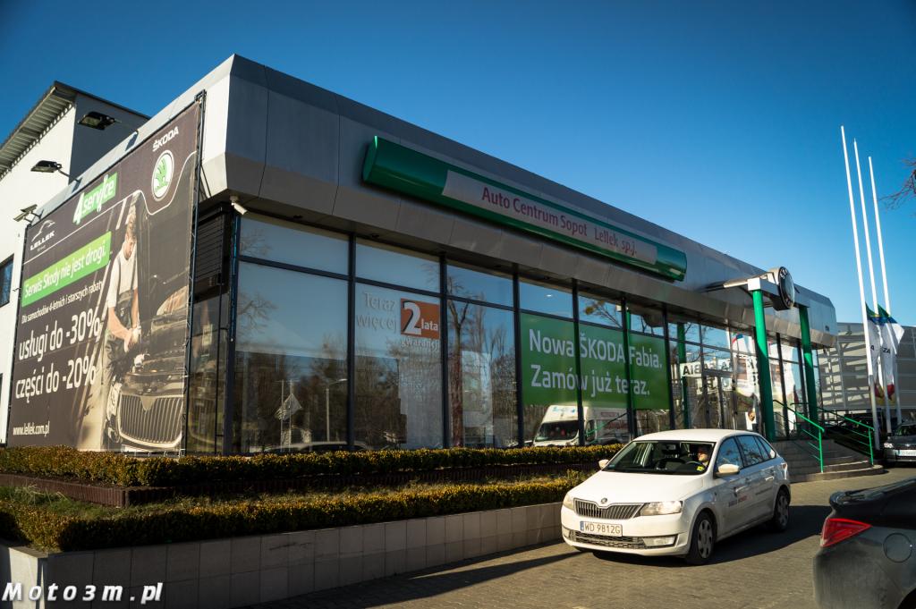 Przedstawiciel Skody z Sopotu, firma Auto Centrum Sopot uzyskała 185 punktów