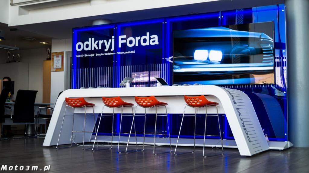 W tym miejscu klienci mogą skonfigurować swojego Forda