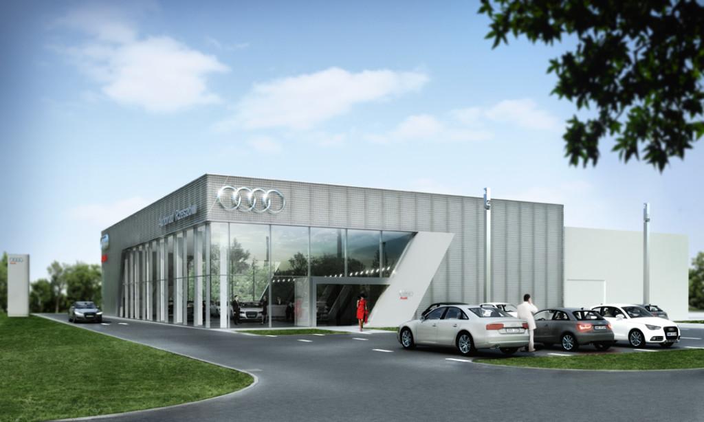 Tak wygląda pierwszy Terminal Audi w Polsce, firmy Autorud z Rzeszowa (Fot. autorud.pl)