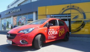 Demonstracyjny Opel Corsa  z pakietem OPC /fot.motorcentrum