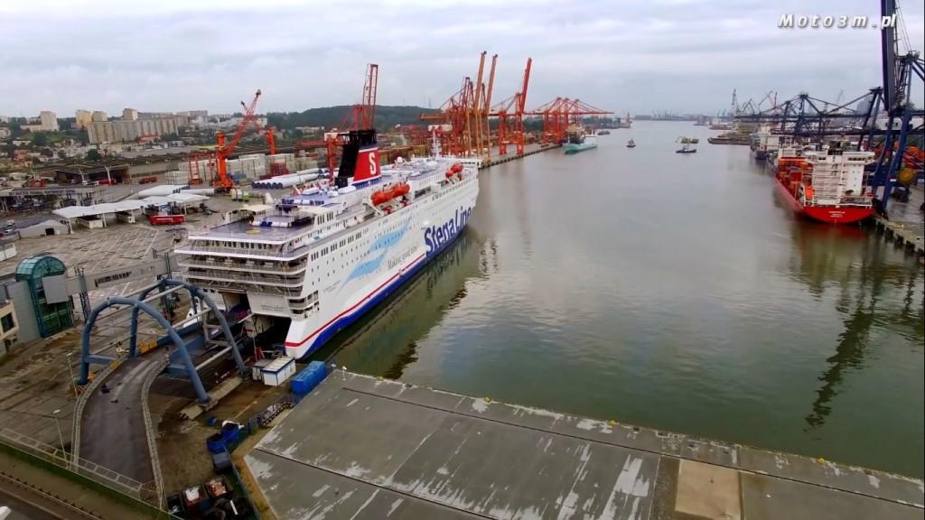 Prom Stena Spirit kursuje codziennie między Gdynią i Karlskroną