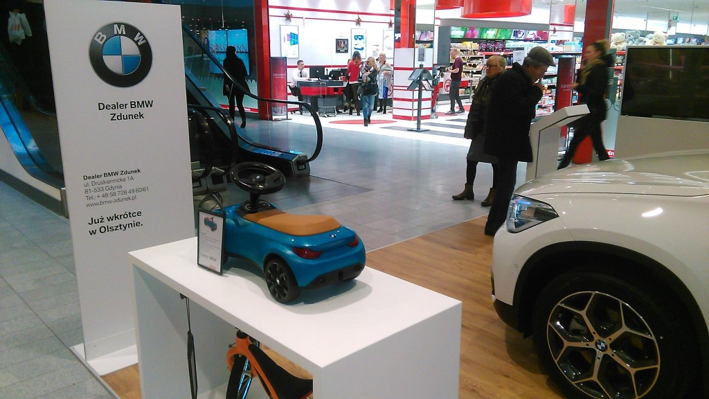 POP UP Store w Olsztynie Fot. BMW Zdunek