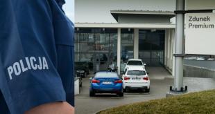 BMW Zdunek i Policja - wspólna akcja