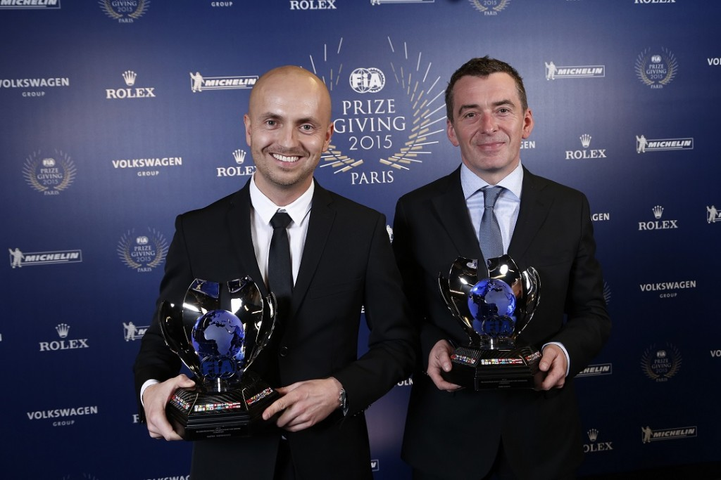 Kajetan Kajetanowicz i Jarosław Baran.  Fot. Jean Michel Le Meur / DPPI