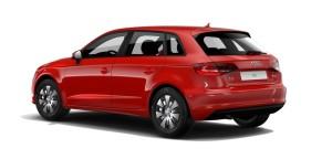 Audi A3 Sportback czerwony Misano