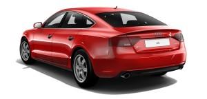 Audi A5 Sportback czerwony misano