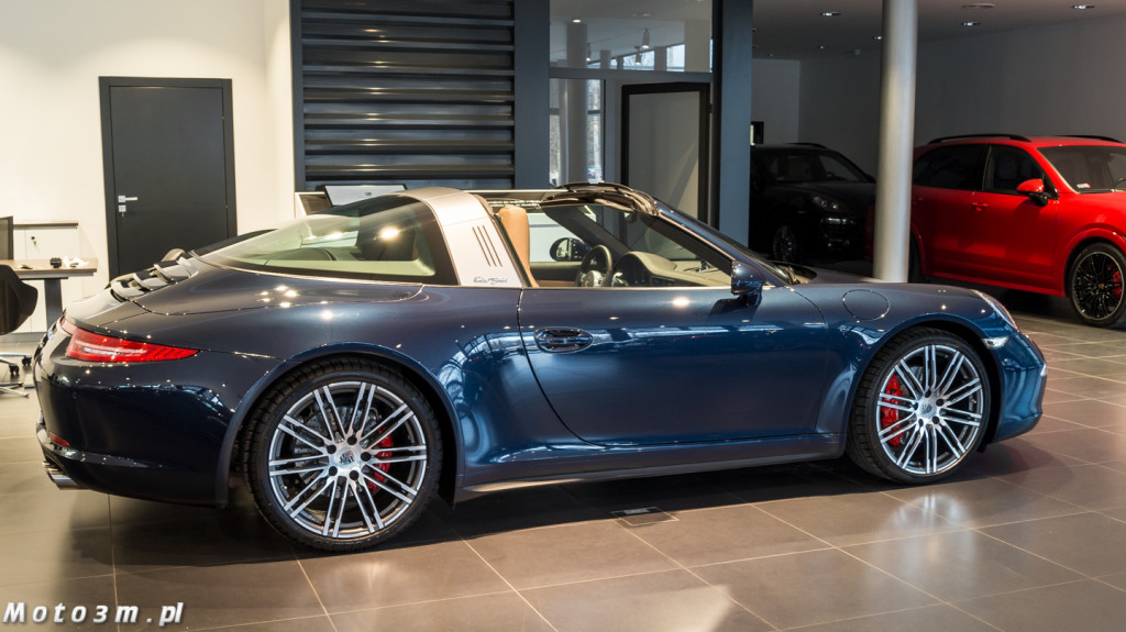 Porsche 911 Targa 4S Wojciech Modest Amaro Sopot-00067