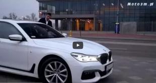 Mateusz Borek testuje BMW serii 7 od BMW Zdunek