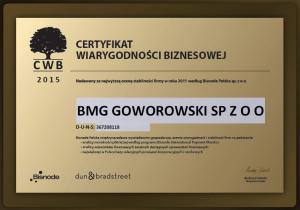 Fot. BMG Goworowski