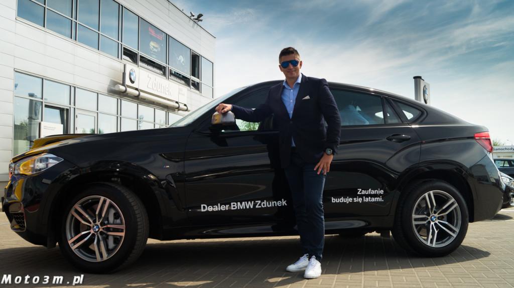 Mateusz Borek odbiera X6 z BMW Zdunek-02537