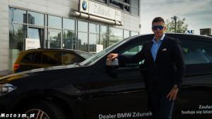 Mateusz Borek odbiera X6 z BMW Zdunek-02538