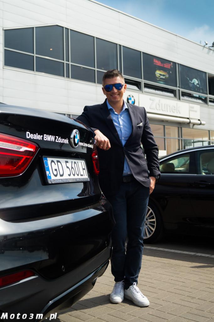 Mateusz Borek odbiera X6 z BMW Zdunek-02542