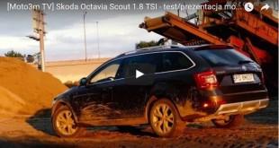 Skoda Octavia Scout Moto3m TV