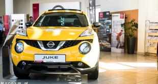 Nissan Juke - żółty kolor Zdunek KMJ1210698