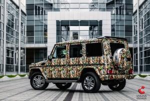 Dowód na to, że niemal każde koloroystyczne marzenie można spełnić... oklejając auto folią. (Fot. colorchange.pl)