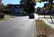 Strefa X: skrzyżowanie równorzędne. Znaki na asfalcie. Fot. Mat. prasowe ZDiZ