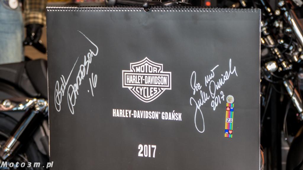Kalendarz Harley-Davidson z Gdańska - z podspisem Bill'ego Davidson'a-1320761