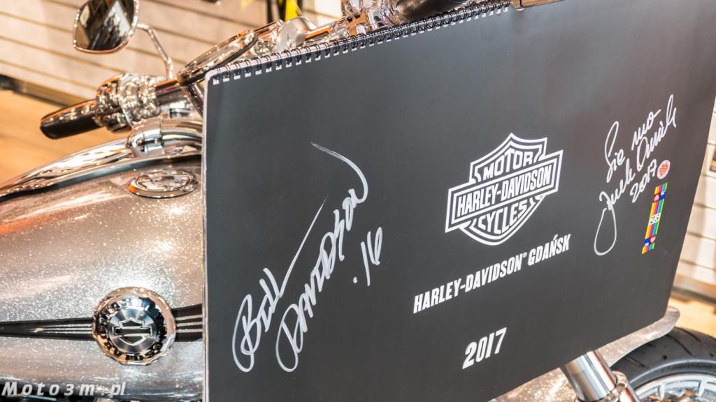 Kalendarz Harley-Davidson z Gdańska - z podspisem Bill'ego Davidson'a-1320765