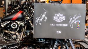 Kalendarz Harley-Davidson z Gdańska - z podspisem Bill'ego Davidson'a-1320766