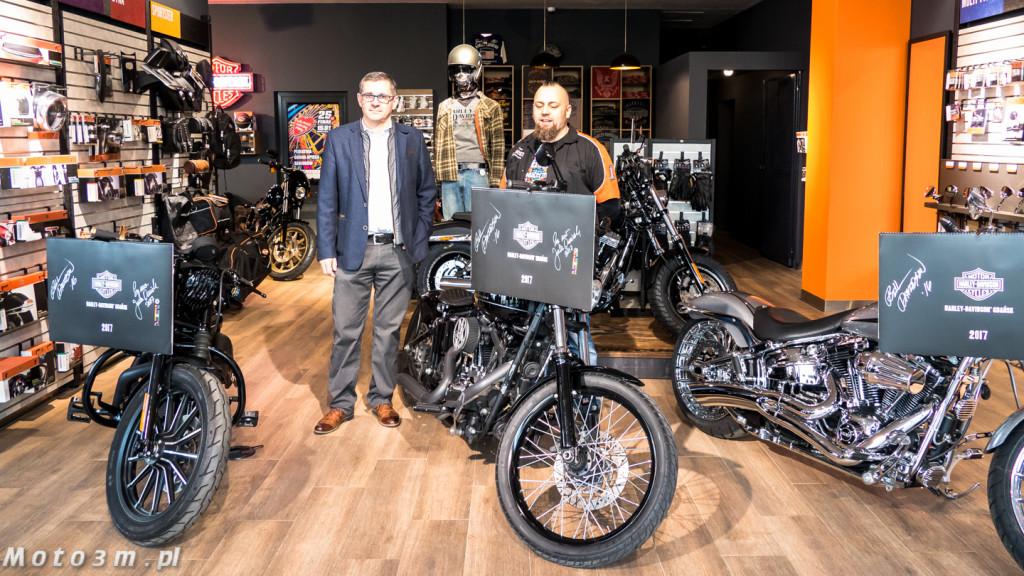 Kalendarz Harley-Davidson z Gdańska - z podspisem Bill'ego Davidson'a-1320767