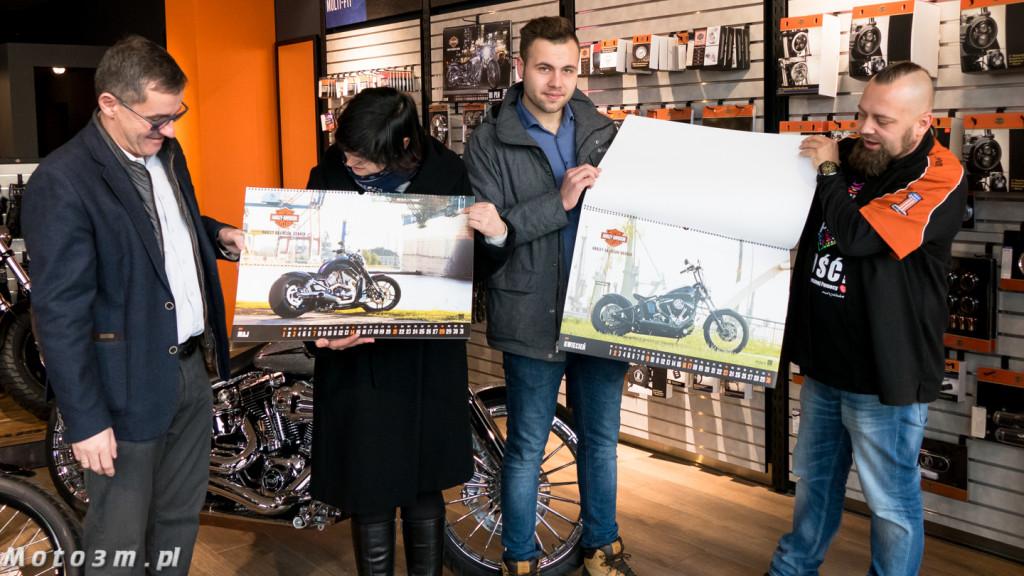Kalendarz Harley-Davidson z Gdańska - z podspisem Bill'ego Davidson'a-1320780