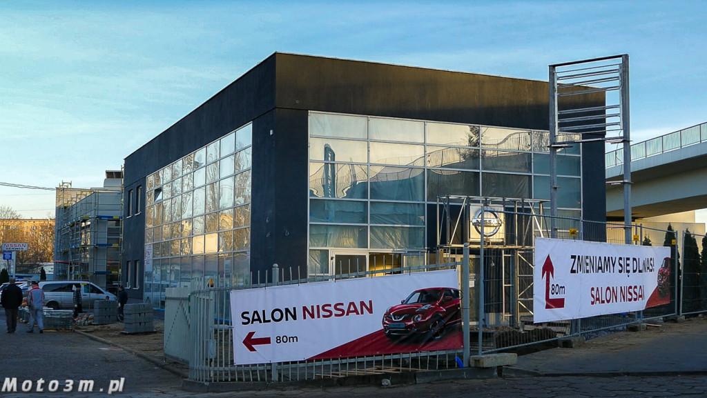 Nissan ZdunekKMJ - przebudowa salonu w Gdańsku-3