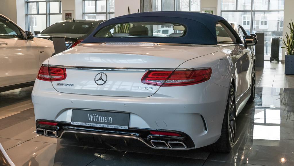 Mercedes-AMG S63 Cabrio - Mercedes-Benz Witman-1340600