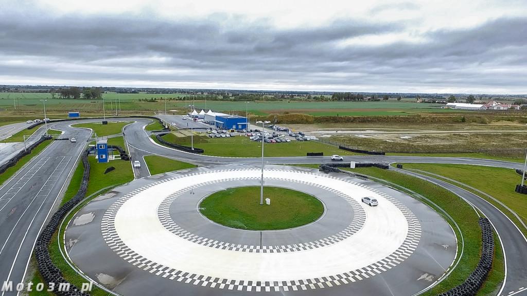 ODT Autodrom Pomorze Pszczółki - widok z powietrza-