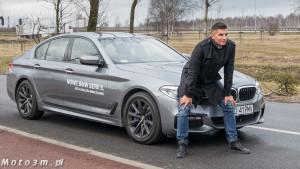Mateusz Borek i nowe BMW Serii 5 G30 z BMW Zdunek-1380524