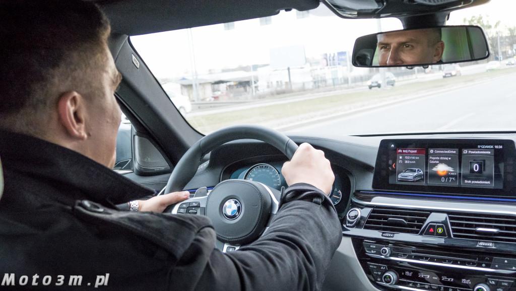Mateusz Borek i nowe BMW Serii 5 G30 z BMW Zdunek-1380535