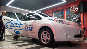 Nissan Leaf to jeden z nielicznych w 100% elektrycznych modeli dostępny w Trójmieście