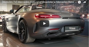 Moto3m TV Mercedes-AMG GT C w MB Witman
