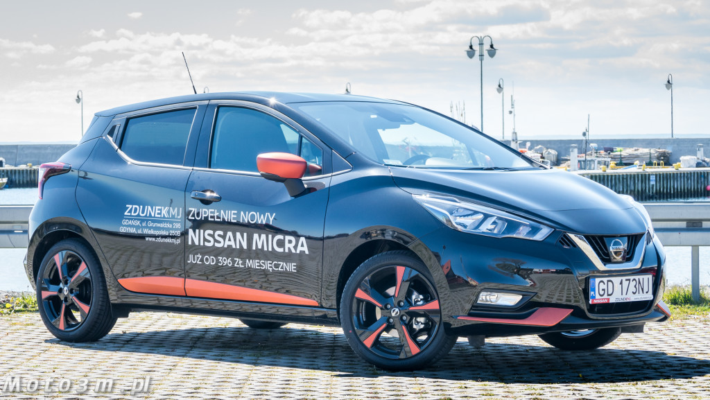 Nissan Micra z ZdunekKMJ - test Moto3m-1420696