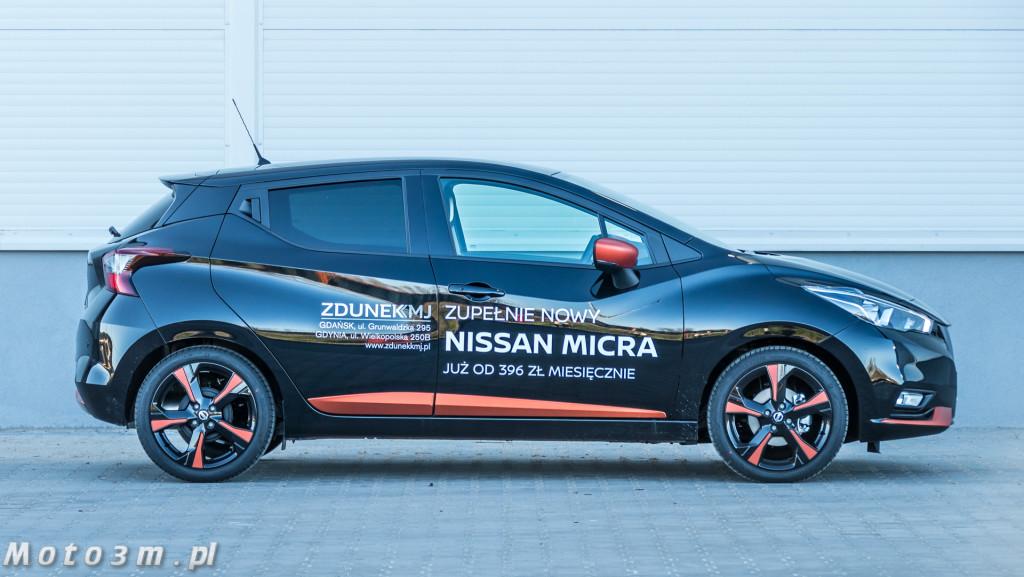 Nissan Micra z ZdunekKMJ - test Moto3m-1420773