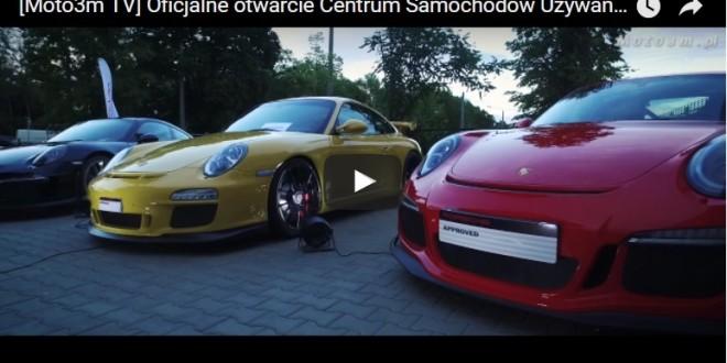 Oficjalne otwarcie Centrum Samochodów Używanych Porsche Approved w Sopocie