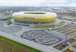 Stadion Energa Gdańsk z powietrza-