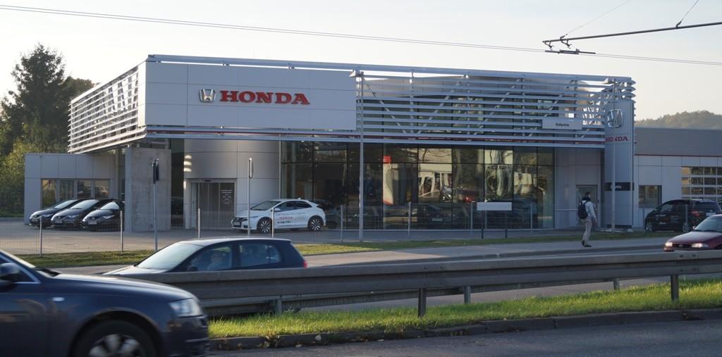 Honda Gdynia salon