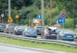 Korek, przebudowa, roboty drogowe, ulica, droga, ruch samochodów - Gdynia-1560274