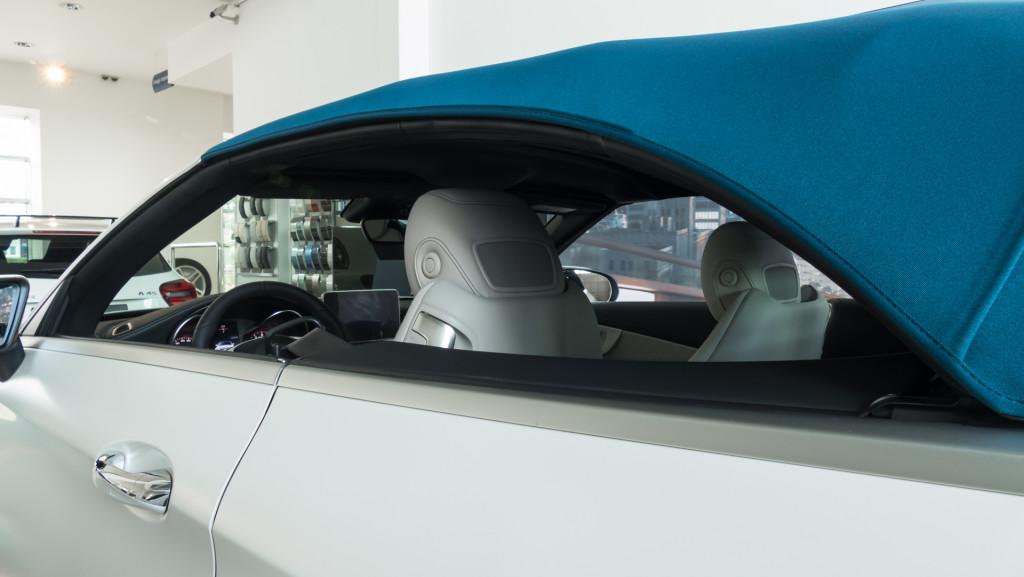 Limitowany Mercedes-AMG C63 Cabrio Ocean Blue Edition w MB Witman-1560656