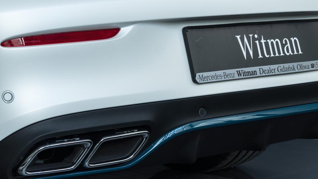 Limitowany Mercedes-AMG C63 Cabrio Ocean Blue Edition w MB Witman-1560659
