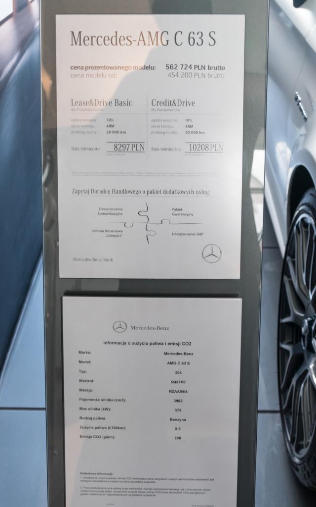 Limitowany Mercedes-AMG C63 Cabrio Ocean Blue Edition w MB Witman-1560661