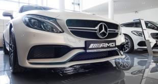 Limitowany Mercedes-AMG C63 Cabrio Ocean Blue Edition w MB Witman-1560664
