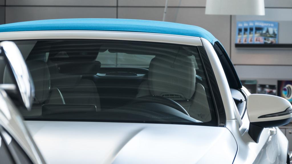 Limitowany Mercedes-AMG C63 Cabrio Ocean Blue Edition w MB Witman-1560665