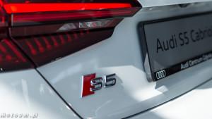 Audi S5 Cabriolet w Audi Centrum Gdynia-09849