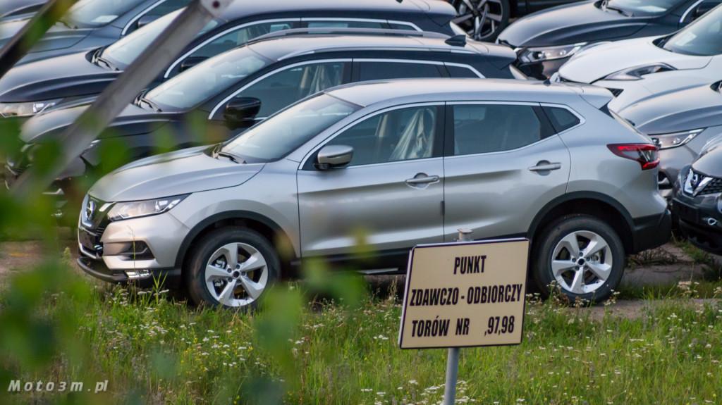 Port Gdańsk, wolny obszar celny i wiele Nissanów-09330