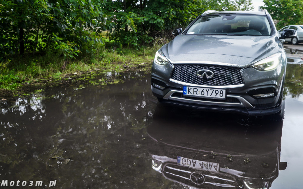 Infiniti QX30 i Mercedes GLA-