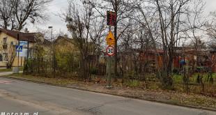 Uśmiechające się znaki drogowe w Gdańsku-142316