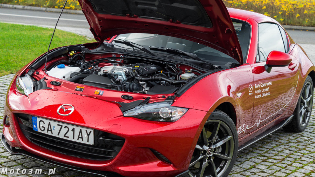Mazda MX-5 RF - test Moto3m BMG Goworowski-01866