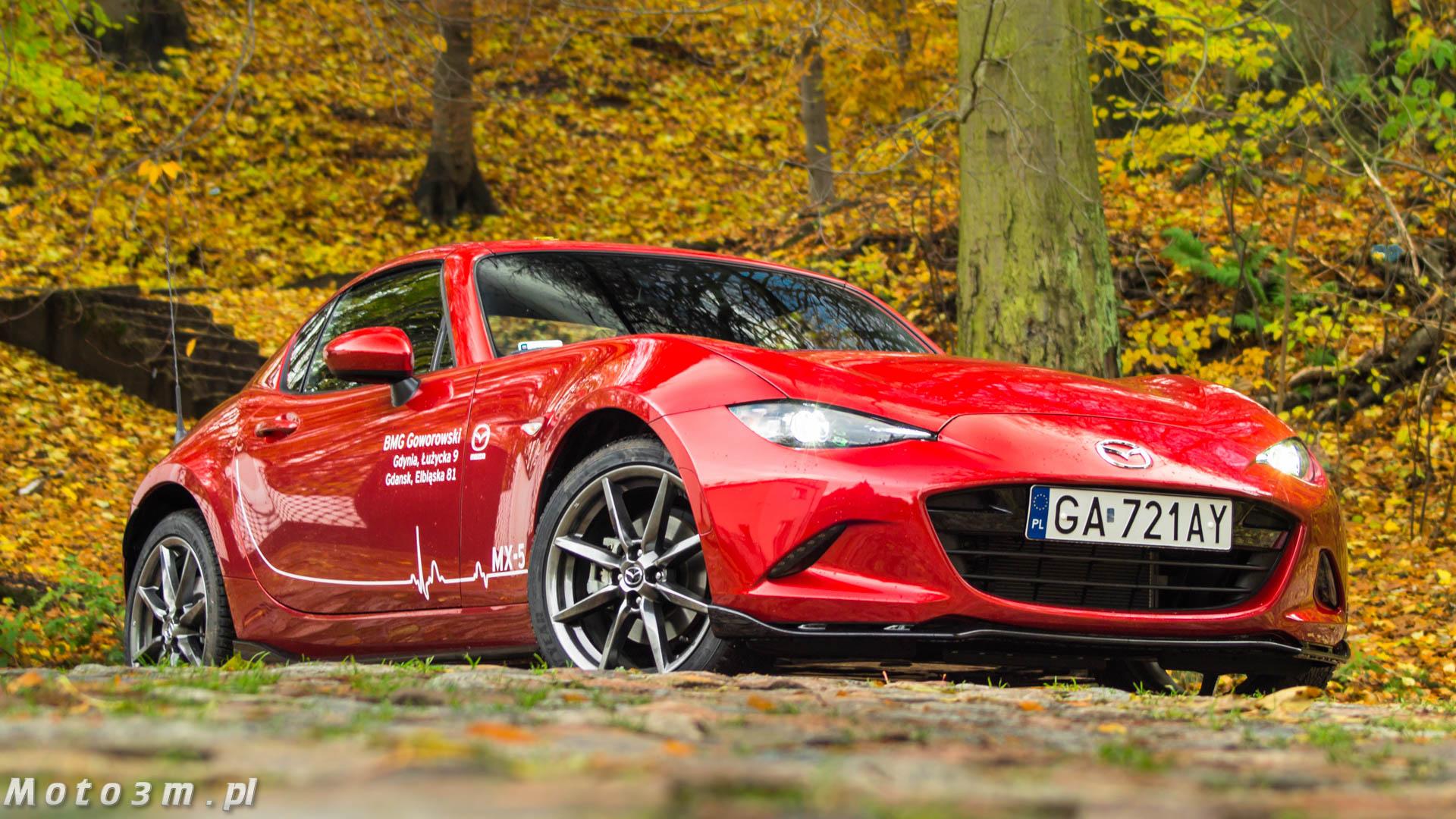 Mazda Mx 5 Rf Cena >> Mazda MX-5 RF – frajda przez cały rok! | Moto3m.pl