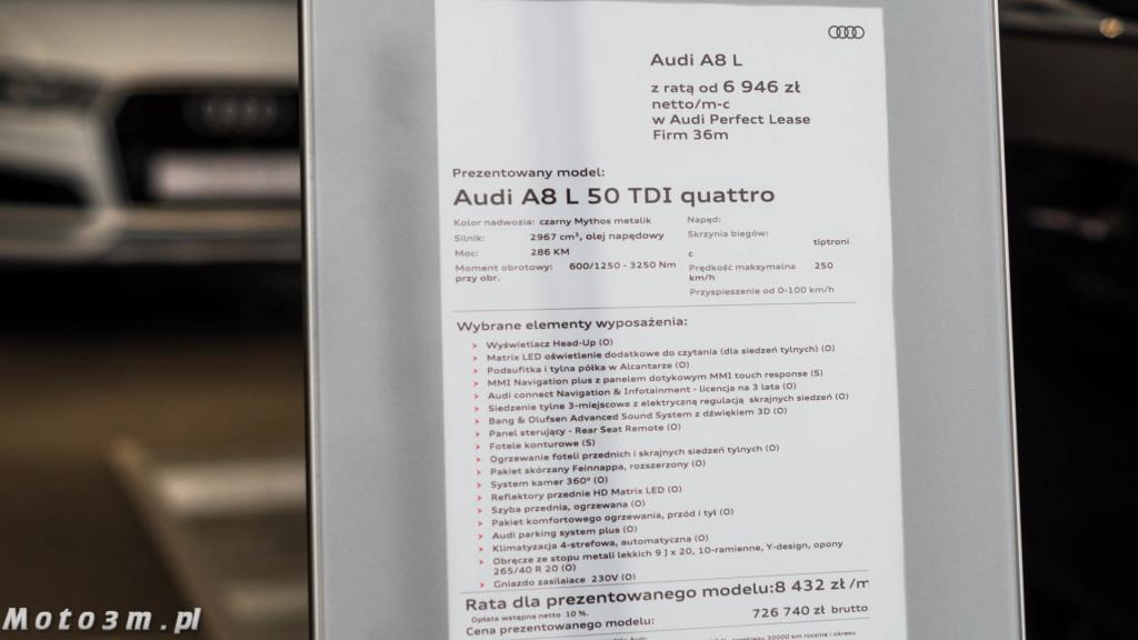 Nowe Audi A8 D5 w Audi Centrum Gdańsk-02448